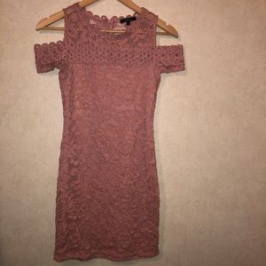 Ambiance || lace fitted dress